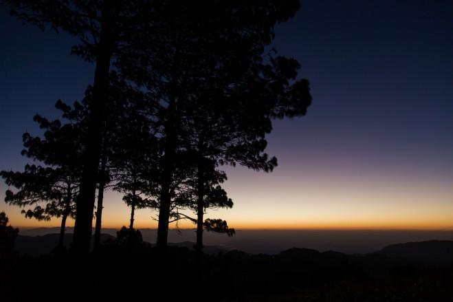 エルサルバドルの避暑地Miramundoの朝